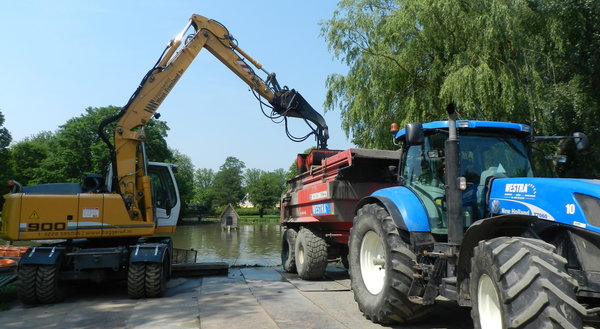 Renovatie stadspark in Franeker